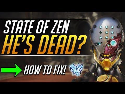 Is Zenyatta DEAD? The State of Zen and how to FIX! | Overwatch Guide