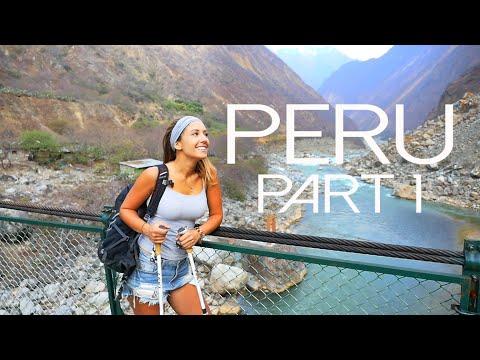 Trekking Peru: Part 1
