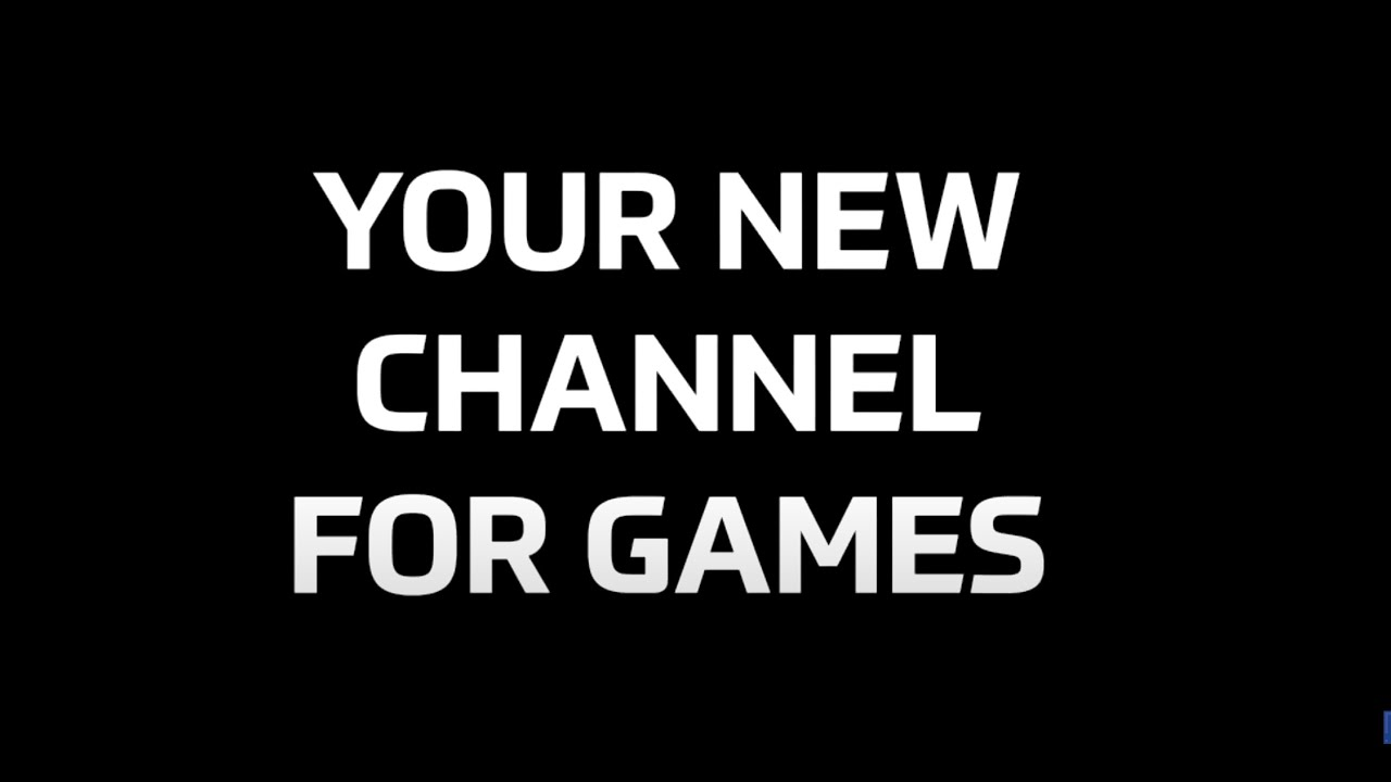 YOUR NEW CHANNEL FOR GAMES - the.gamer\\changer
