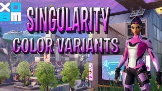 *NEW* HOW TO UNLOCK SINGULARITY UNLOCKABLE STYLES IN FORTNITE BATTLE ROYALE (COLOR VARIANTS )SEASON9