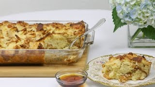 Www.dessertsrequired.com's Apple Challah Baked French Toast
