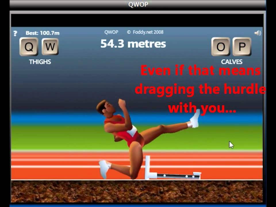 How i beat qwop youtube how i beat qwop ccuart Image collections
