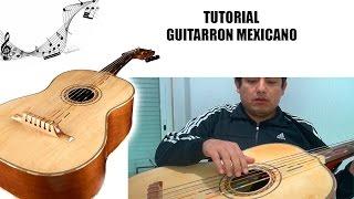 Guitarrón Mexicano (tutorial)