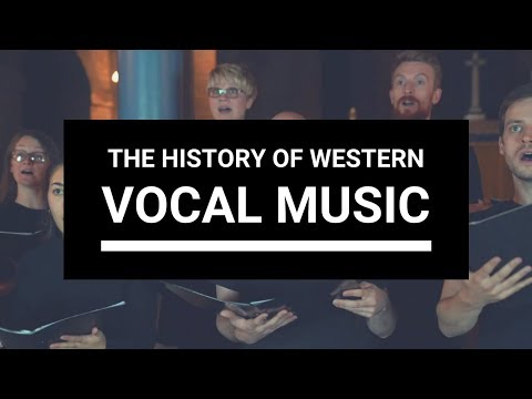 The history of Western vocal music | Choir With Knut - a cappella arranging | Ep. 1