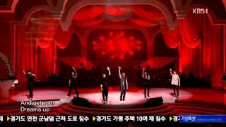 [130714] 2PM (투피엠) - A.D.T.O.Y. (하.니.뿐.) + Hands Up (핸즈 업) @ KBS Open Concert