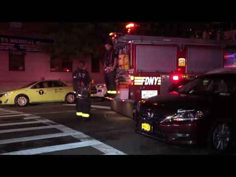FDNY Response to Electrical Fire at 260 Audubon Ave, Washington Heights, Manhattan