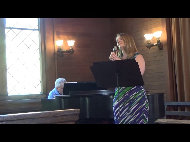 Jen Seaman sings Over the Rainbow Pride Sunday June 2019