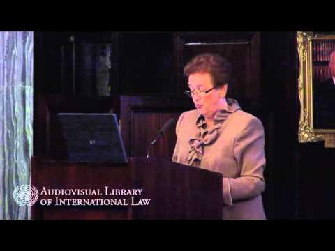 Dame Rosalyn Higgins - Shabtai Rosenne and the ICJ