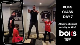 At Home BOKS Class - Workout With Tom Levett!