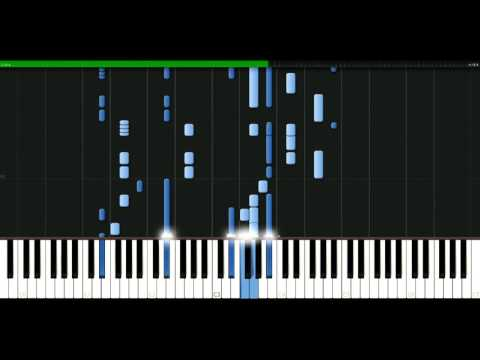 White Town - Your Woman [Piano Tutorial] Synthesia | passkeypiano