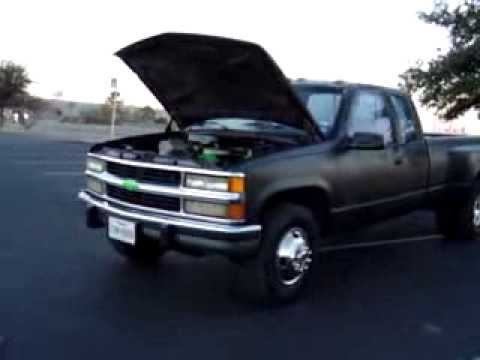 1989 chevy 3500 dually