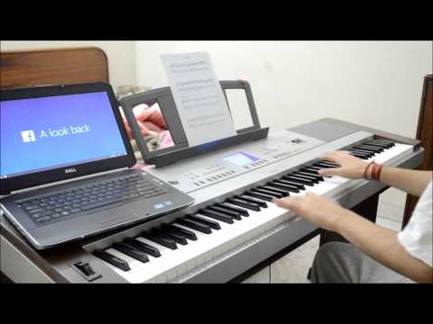 Facebook Lookback Music (PIANO COVER HD)