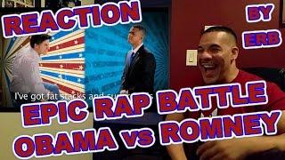 ERB Barack Obama vs Mitt Romney Epic Rap Battle ReAction
