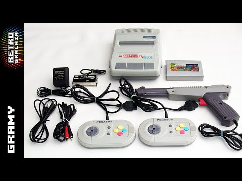 Pegasus/Famicom - Klon - Contra - GamePlay - RetroGralnia - Stare Konsole - NES - RG#119
