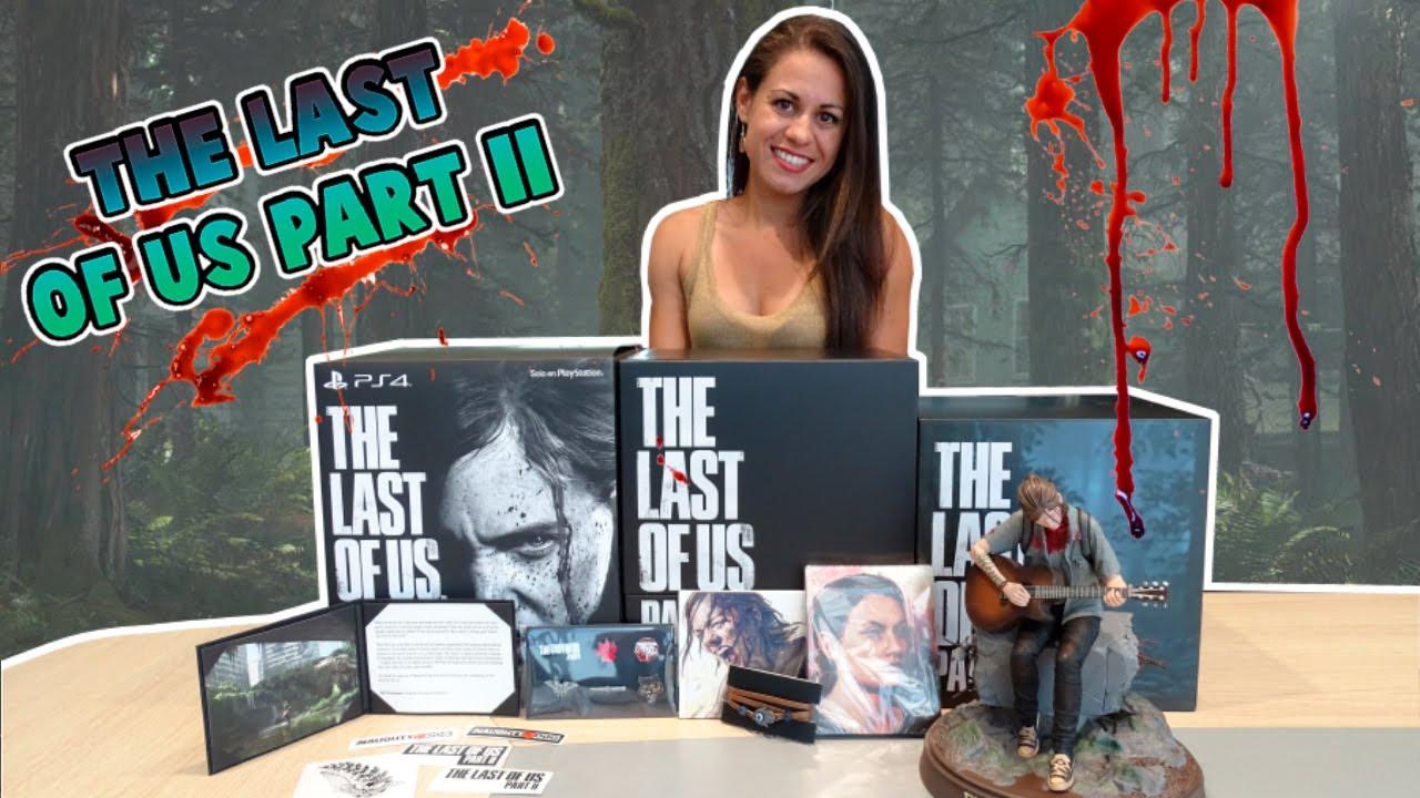 The Last Of Us Parte 2 Ps4 Edición Coleccionista Unboxing Youtube