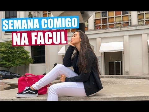 Vlog: Uma Semana Comigo na Facul! FAAP | Stephanie Garcia