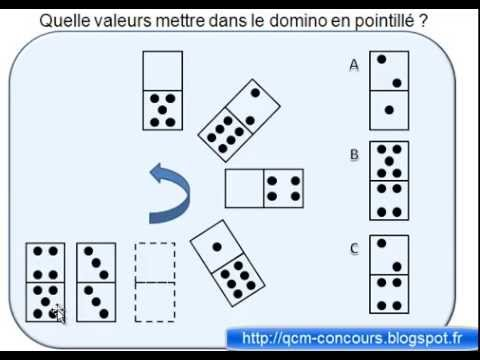 tests de qi expliqu s les dominos youtube. Black Bedroom Furniture Sets. Home Design Ideas