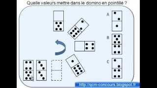 Tests  de Qi expliqués Les dominos