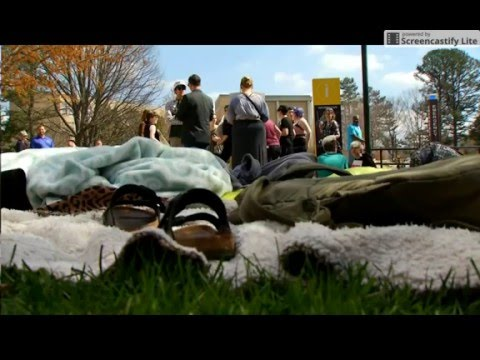 UNCA Housing Protest WLOS NEW13