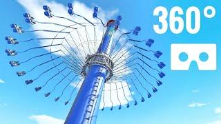 360 Degree Video 360° Swing Carousel Ride Roller Coaster Nintendo Switch Virtual Reality VR Box
