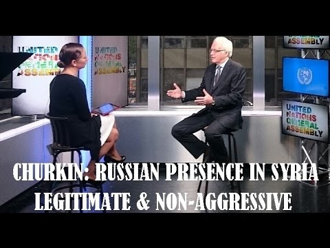 'No Russian isolation, involved in solving global problems' envoy Churkin to RT