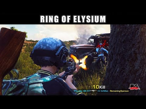 The madness of battlegrounds - ROE Europa - Ring of Elysium