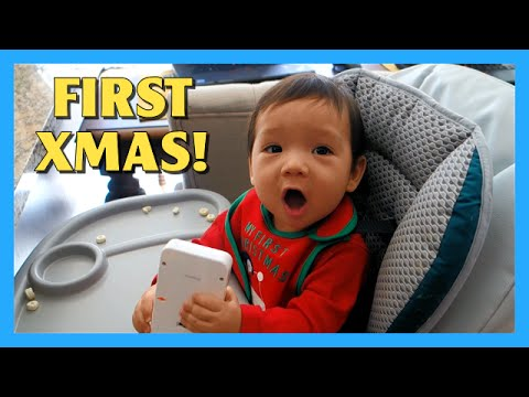Baby Liam's First Christmas!