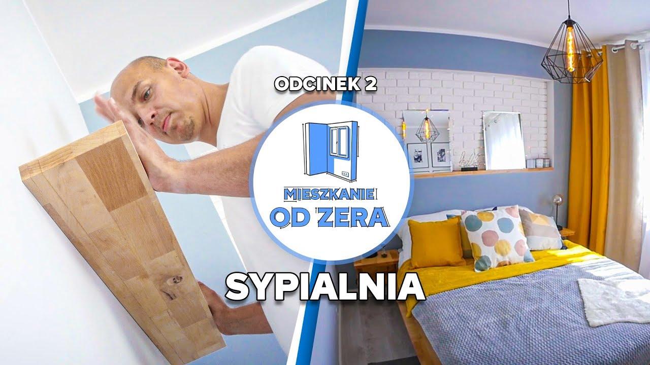 MIESZKANIE OD ZERA #2 - Sypialnia DIY – tanio i sprytnie