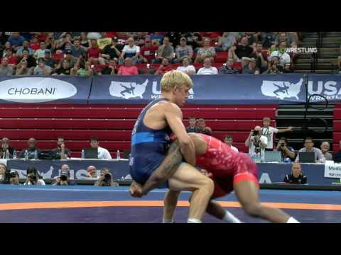 74 Round 1 - Jordan Burroughs (Sunkist Kids) vs. Kyle Dake (TMWC)