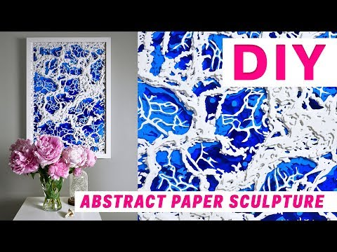 Abstract paper sculpture | Time lapse | OLGA SKOROKHOD
