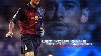 Legends of Football : Pep Guardiola (FC Barcelona)