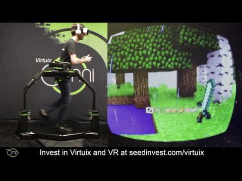 Watch Minecraft on the Gear VR Using the Virtuix Omni