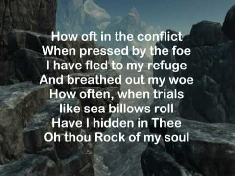 HAVEN OF REST QUARTET -- HIDING IN THEE / ROCK OF AGES MEDLEY with Lyrics