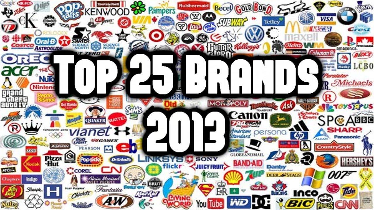 Top 25 Brands 2013  2014  Youtube