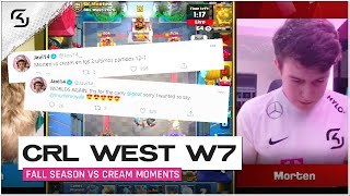 CRL West Fall Season 2020 Week 7 | SK Gaming vs Cream | Moments