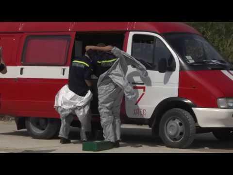 MNSKHM: Навчання спеціалізованих служб цивільного захисту м. Нетішин