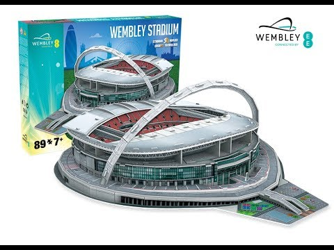 """Wembley Stadium"" | Nanostad - Puzzle 3D"