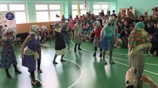 Бабки жгут! Танцы в школе
