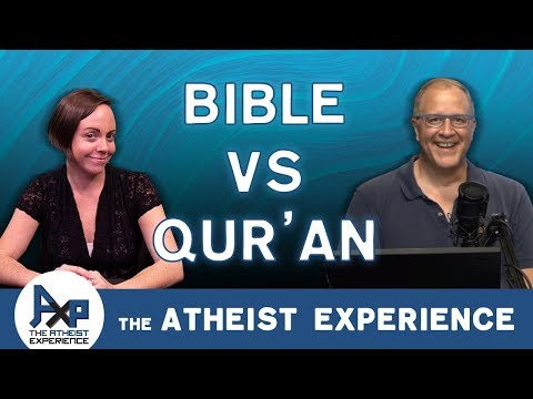 The Koran/Qur'an Is More Accurate Than The Bible | Mark - ME | Atheist Experience 24.07