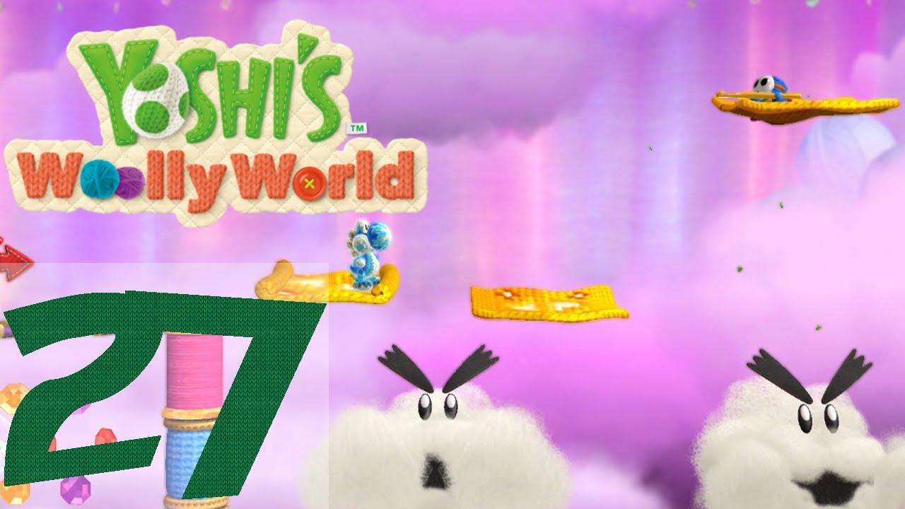 Yoshis Woolly World #27 ♦ Fliegender Teppich des Grauens