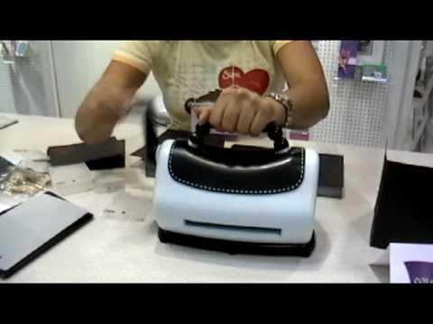 Sizzix Texture Boutique Machine - YouTube
