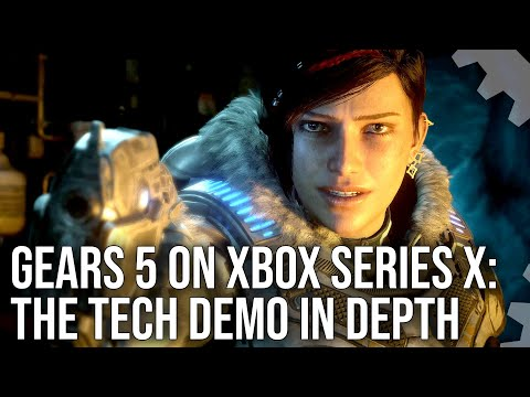 Gears 5 on Xbox Series X: The Tech Demo Analysed In-Depth!