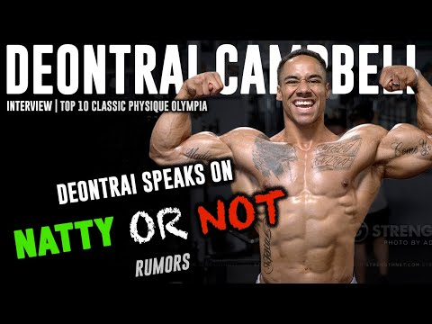 NATTY or NOT? Top 10 Classic Physique Olympia Deontrai Campbell SPEAKS on More Plates More Dates Vid