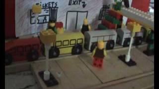 Lego Train. IKEA RAILROAD