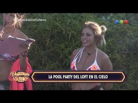 Las chicas del loft desfilan con Ivana Nadal en la pool party - Despedida de Solteros