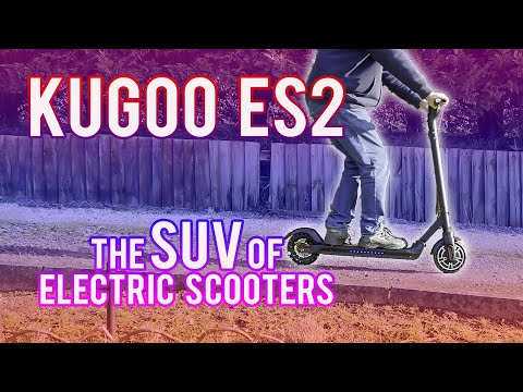 Kugoo ES2 Review: The SUV of Electric Scooters!