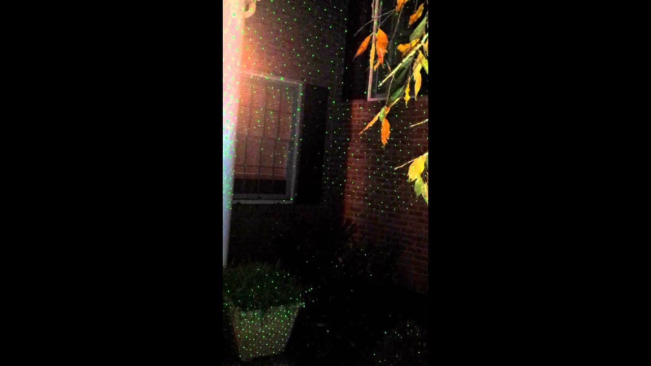 Star Night Laser Shower (GREEN) Christmas Lights - Star Night Laser Shower (GREEN) Christmas Lights - YouTube