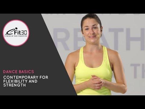 Dance Basics - Contemporary for Flexibility and Strength - MOVE123 - 20 min Emma