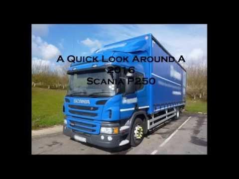Scania P250 Interior (2016)