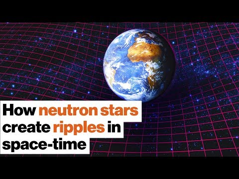 Amazing astronomy How neutron stars create ripples in space-time   Michelle Thaller